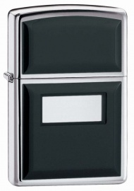 Zippo Black Ultralite® High Polish Chrome, латунь/сталь, 36x12x56 мм